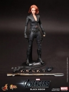 "BLACK WIDOW 12"" Hot Toys AVENGERS 1/6 MARVEL Scarlett Johansson"