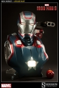 Sideshow IRON PATRIOT Life Size BUST 1:1 Iron Man