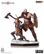 Iron Studios GOD OF WAR Deluxe Art Scale 1/10 STATUE Kratos
