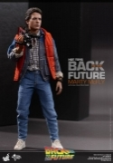 Hot Toys MARTY McFLY Back to The FUTURE Michael J. Fox FIGURE