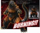 MonsterArts GODZILLA BURNING 1995 Figure BANDAI