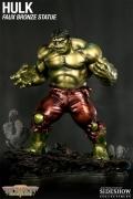 Bowen HULK RETRO Green FAUX BRONZE Statue