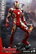 Hot Toys MARK XLIII 1/4 IRON MAN 43 Avengers Ultron FIGURE 50cm.