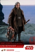 Hot Toys LUKE SKYWALKER DELUXE Episode VIII Star Wars 1/6 Figure