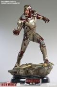 Sideshow MARK 42 Maquette IRON MAN 1/4 Statue