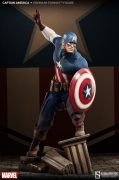 Sideshow CAPTAIN AMERICA Premium Format ALLIED CHARGE On HYDRA