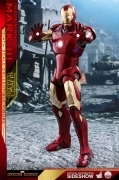 Hot Toys MARK III DELUXE 1/4 SCALE Iron Man FIGURE DLX