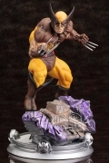 WOLVERINE Kotobukiya BROWN COSTUME Fine ART Danger Room STATUE