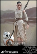 Hot Toys REY & BB-8 Star Wars EPISODE VII Figure SET