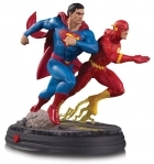 DC Gallery SUPERMAN VS FLASH Racing STATUE