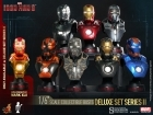 Hot Toys IRON MAN Collection Bust SET 8 Pack