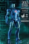 Hot Toys MARK III STEALTH DIECAST Summer EXCLUSIVE Iron Man 12