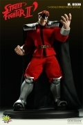 Pop Culture MR.BISON Street Fighter Mixed Media STATUE Sideshow