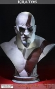 Gaming Heads KRATOS Life Size BUST God of War 1:1 Statue