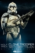 Sideshow CLONE TROOPER Wolf PACK 1/6 Figure