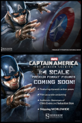 Sieshow CAPTAIN AMERICA The Winter Soldier PREMIUM FORMAT 1/4