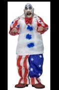 Neca CAPTAIN SPAULDING House of 1000 Corpses Cloth ACTION FIGURE
