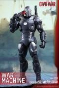 Hot Toys WAR MACHINE DIECAST Captain America CIVIL WAR