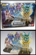 Myth Cloth STAGE 10th Anniversary DISPLAY Saint Seiya BANDAI Ex