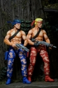Neca CONTRA Video Game BILL & LANCE Action Figure