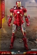 Hot Toys IRON MAN MARK VII DIECAST Avengers 1/6 FIGURE