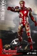 Hot Toys MARK 43 XLIII IRON MAN Diecast AVENGERS Age Of Ultron