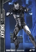 Hot Toys SNEAKY Iron Man 3 MARK XV Movie Masterpiece FIGURE