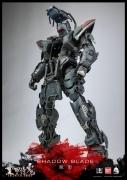 ThreeZero SHADOW BLADE Full Metal Ghost BANDAI Figure