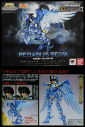 SAINT SEIYA Pegasus GOD Myth CLOTH 10TH Tamashii