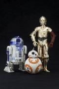 Kotobukiya C-3PO & R2-D2 w/ BB-8 STATUE Episode VII STAR WARS