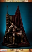KRATOS on THRONE Gaming Heads 1/4 STATUE God of War