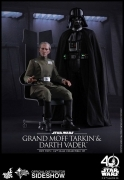 Hot Toys GRAND MOFF TARKIN & DARTH VADER Episode IV SW SET