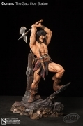 Arh CONAN The SACRIFICE Statue Sideshow