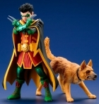 Artfx+ ROBIN & ACE The Bat-Hound KOTOBUKIYA 2-PACK Statue