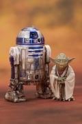 Artfx+ YODA & R2-D2 Star Wars 2-PACK Dagobah Kotobukiya STATUE