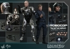 HOT TOYS Battle Damaged ROBOCOP & MURPHY 12