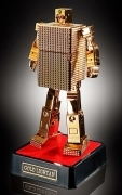 Bandai GX-32R GOD LIGHTERN Lightan SOUL OF CHOGOKIN 24K Gold SOC