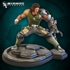 Hollywood Collectibles BIONIC COMMANDO Nathan RAD Spencer STATUE