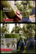 HULK Hot Toys DELUXE Age Of Ultron 1/6 FIGURE Avengers