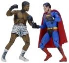 Neca SUPERMAN vs MUHAMMAD ALI Special Edition 2-Pack SET Figures