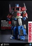 Hot Toys OPTIMUS PRIME Starscream Version TRANSFORMERS Figure