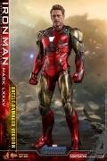Hot Toys BATTLE DAMAGED MARK LXXXV DIECAST Avengers Endgame 1/6
