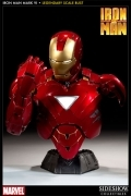 Sideshow LSB 1/2 IRON MAN 2 Mark VI Legendary Scale BUST