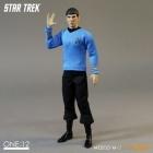 Mezco SPOCK Cloth STAR TREK Action Figure