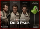 Blitzway GHOSTBUSTERS 3 PACK 1/6 Figures + SLIMER