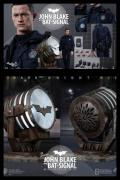 Hot Toys JOHN BLAKE + BAT SIGNAL 1/6 Figure BATMAN TDKR