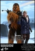 Hot Toys HAN SOLO & CHEWBACCA Episode VII STAR WARS 1/6 SET