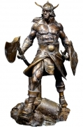 CONAN THE BRUTAL Faux Bronze STATUE Quarantine Studio