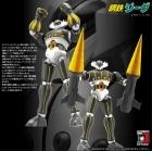 Evolution Toy JEEG BLACK Version DYNAMITE ACTION 20 Robot