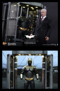 ARMORY Hot Toys BATMAN Alfred 1/6 SET